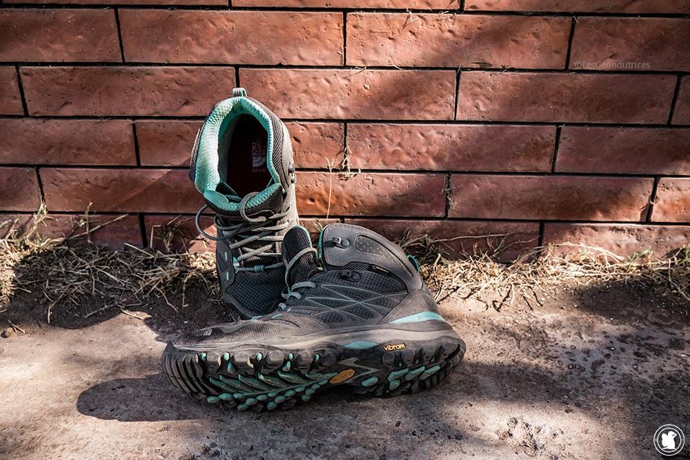 Équipement pour un trek au Népal - Chaussures The North Face