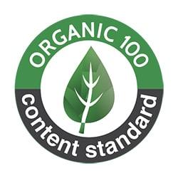 organic 100 content standard