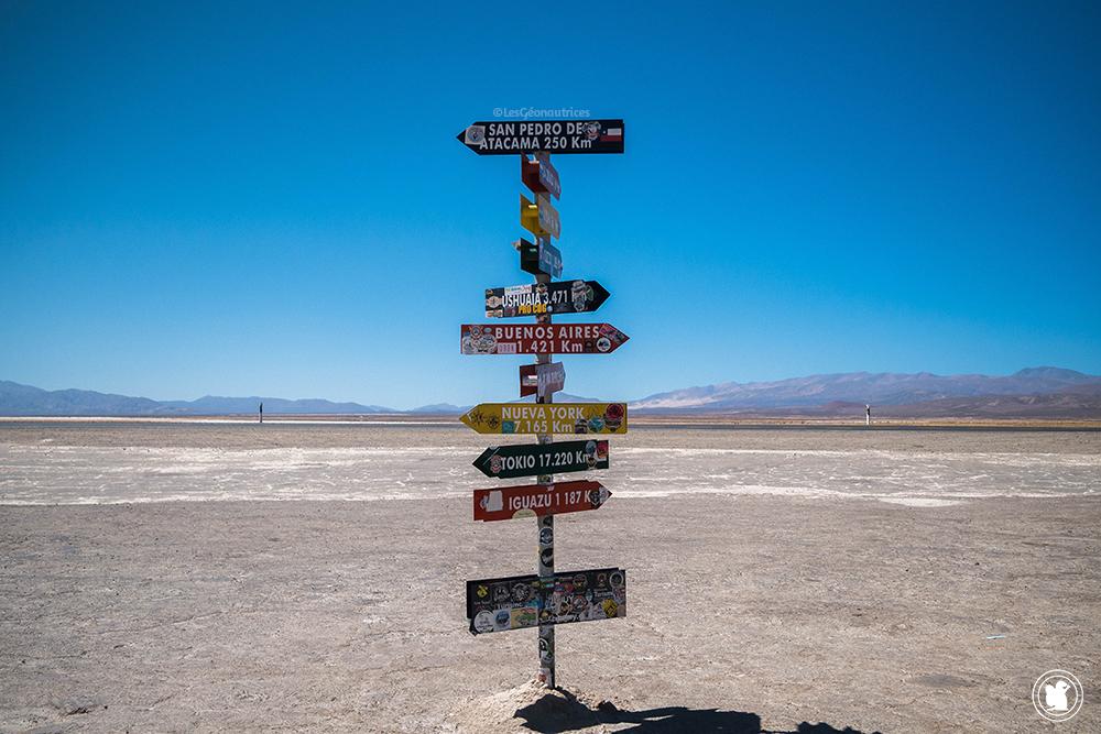 Par où allons-nous ? Salinas Grandes - Argentine