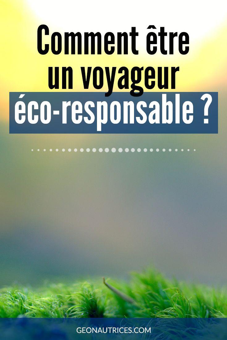 Voyager, c'est bien ! Mais voyager en étant responsable et respectueux de son environnement et des locaux, c'est mieux ! Nous vous partageons quelques conseils pour devenir un voyageur éco-responsable dans notre article. A lire par ici ! #ecoreponsable #ecologie #voyage