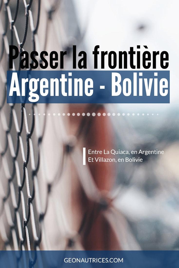 Voici les informations que nous avons collectées lors de notre passage de la frontière boliviano-argentine entre La Quiaca et Villazon. Car c'est toujours délicat un passage de frontière et que nous-même on préfère se renseigner avant de se lancer, on vous a fait cet article !  #frontiere #argentine #bolivie #voyage