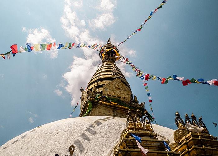 Monkey temple Népal