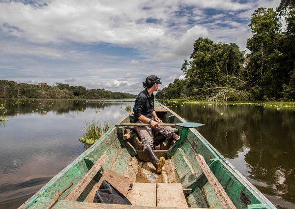Premiers pas dans l'Amazonie