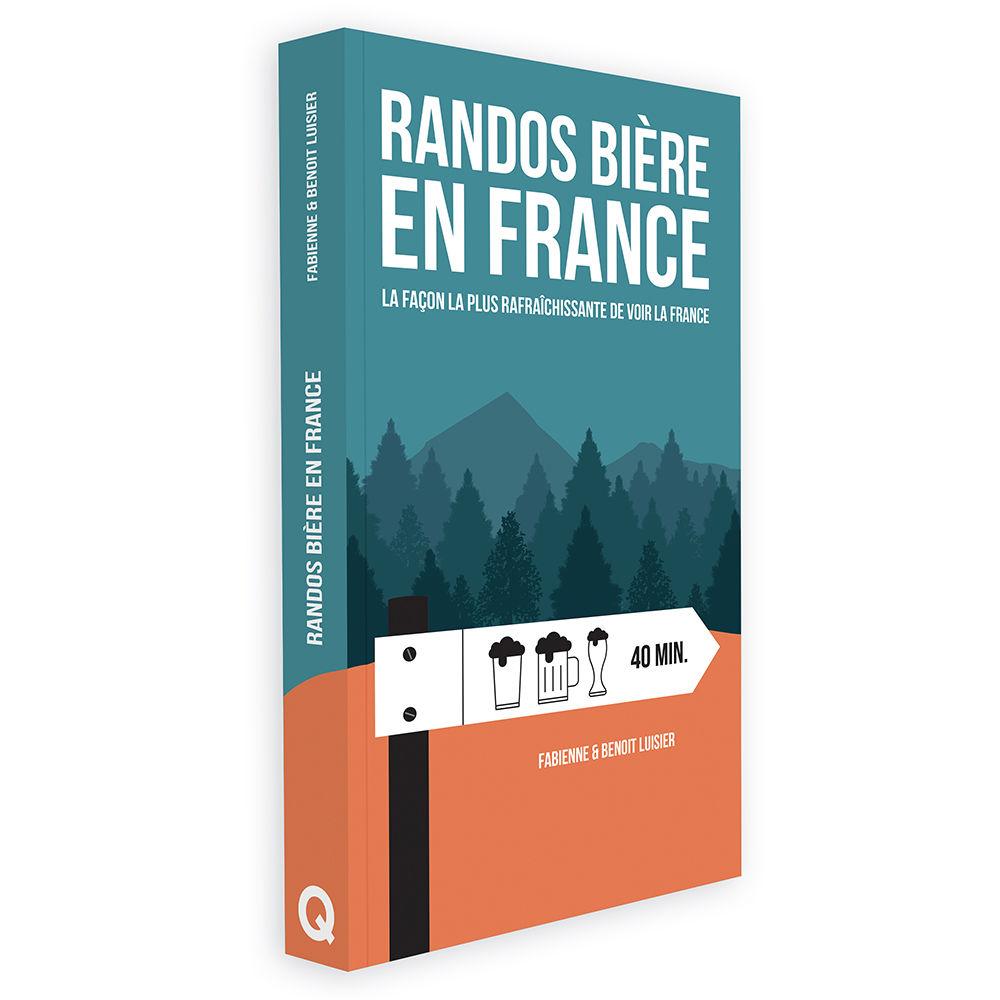 Couverture du livre Randos bière en France
