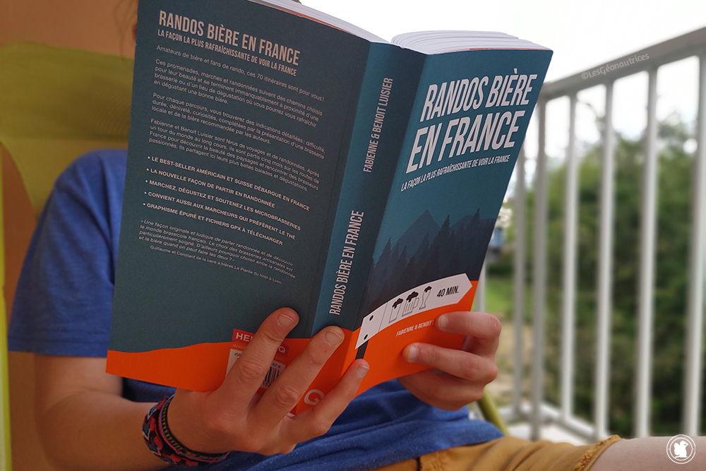 Randos Biere en France, le livre qui allie la randonnée à la dégustation de bière