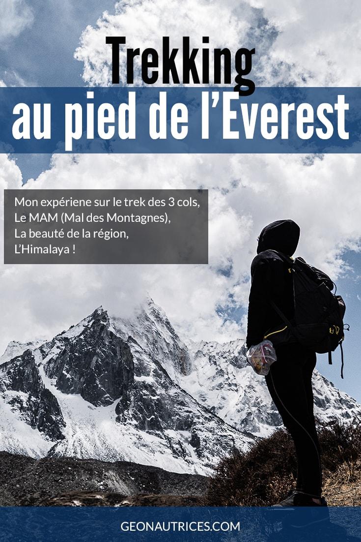 Trekking dans la région du Khumbu, au pied de l'Everest... C'est magique et les conditions sont rudes. Parfois tout va bien, parfois les problèmes surviennent. Venez découvrir mon expérience sur le trek des 3 cols... #trekking #nepal #himalaya