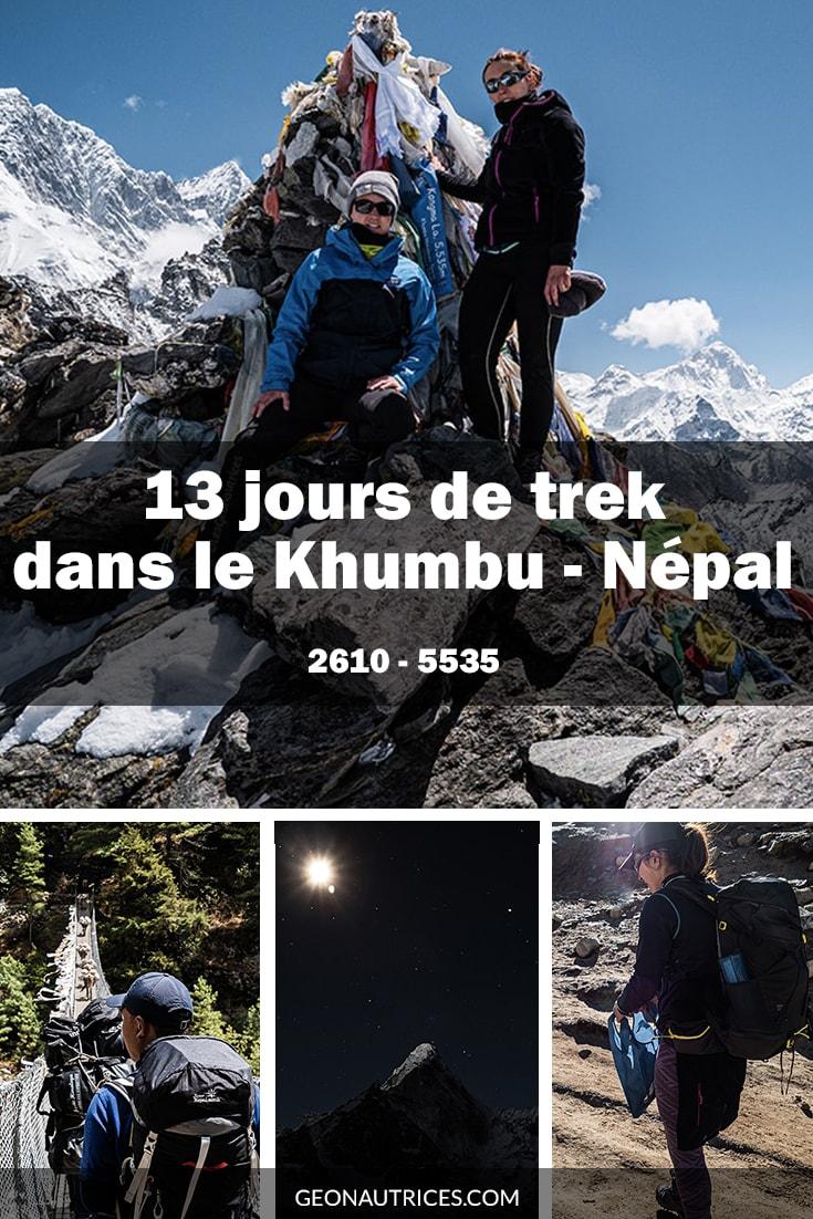Treize jours de trekking dans la région du Khumbu au Népal. Treize jours intenses et magnifiques où les choses ne se sont pas passé comme imaginées... #nepal #trekking #himalaya