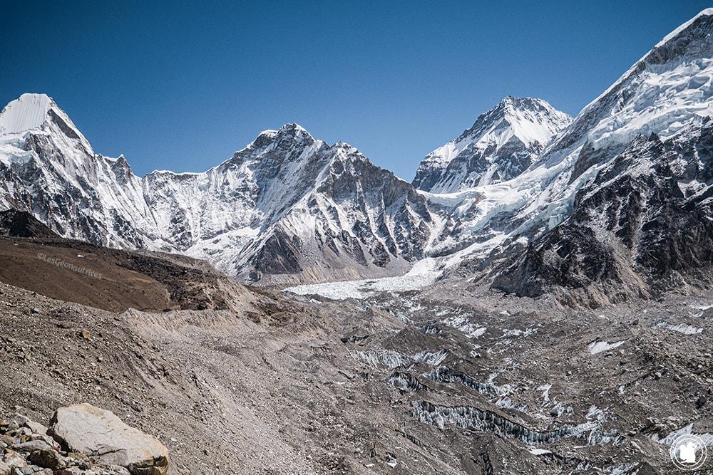 Trek des 3 cols - Glacier Khumbu sur le sentier de l'EBC