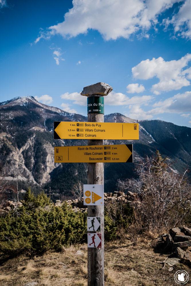 Trek Val d'Allos Croix-du-Puy 1668m
