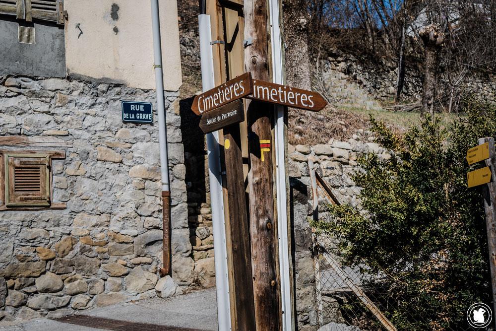 Trek Val d'Allos direction le cimetière de Beauvezer