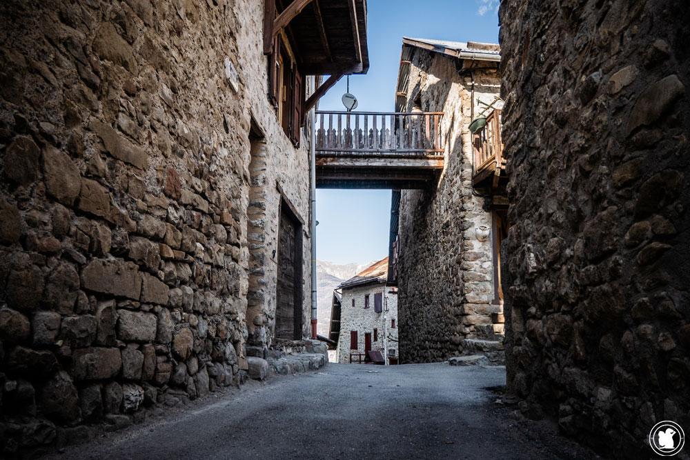 Trek Val d'Allos village de Villars-Colmars