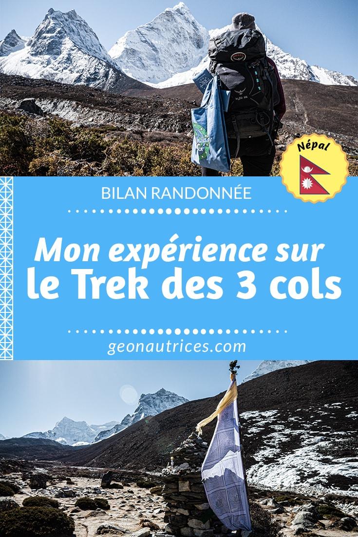 Mon expérience sur le trek des 3 cols c'est 13 jours intenses de marche, 2 jours d'acclimatation/repos et... la découverte de Mal des Montagnes (MAM). #nepal #trekking #himalaya