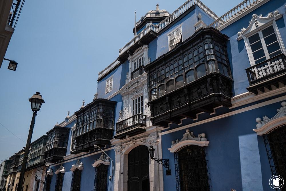 Casa Osambela dans le centre historique