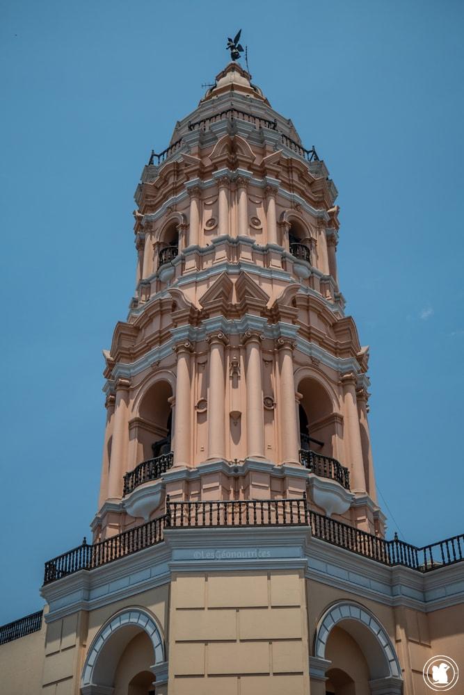 Église Santo Domingo de Guzman dans le centre hisorique
