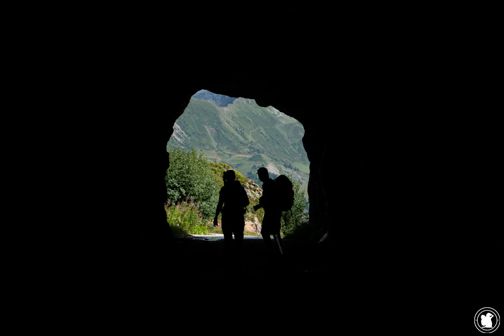 Un des tunnels du TVT