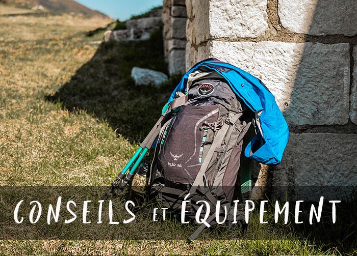Conseils et équipement trekking