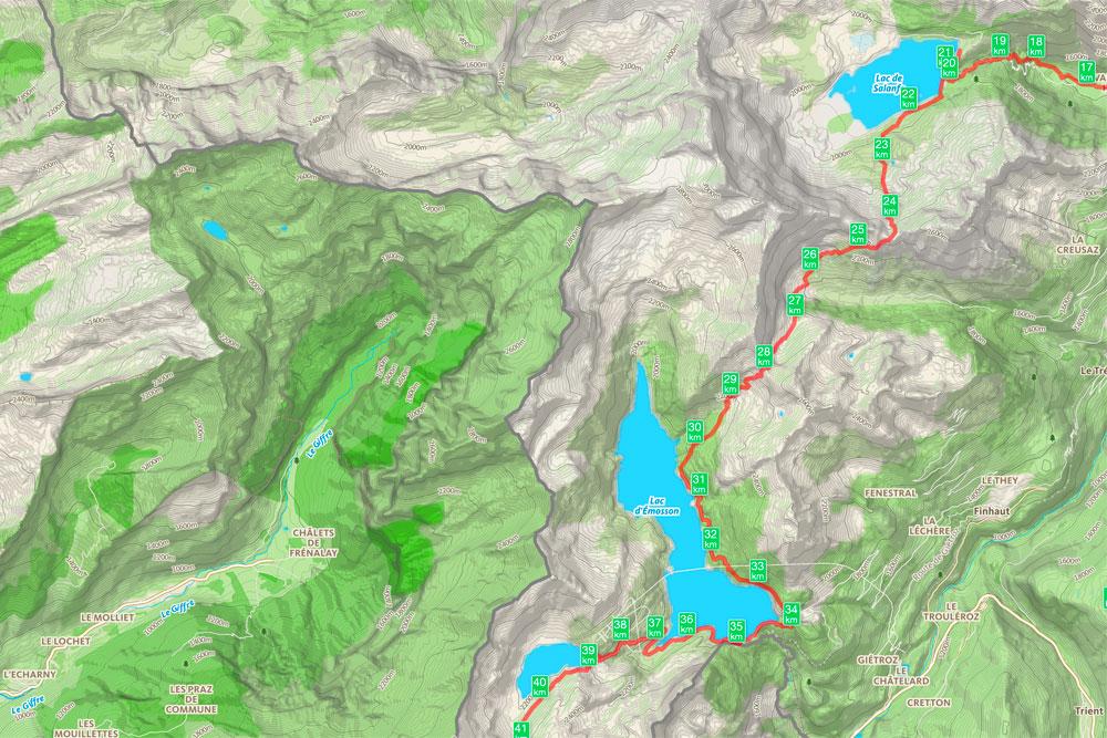 Tour de la Vallée du Trient - jour 2