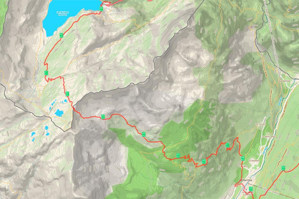 Tour de la Vallée du Trient - jour 3