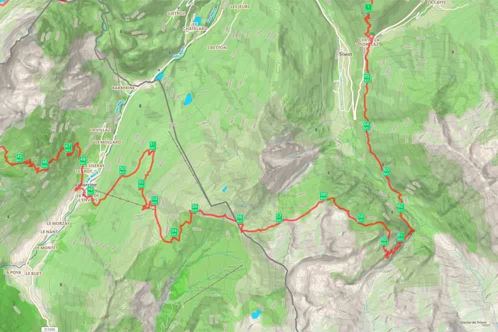 Tour de la Vallée du Trient - jour 4