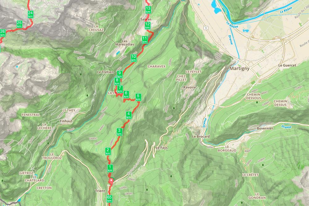 Tour de la Vallée du Trient - jour 5