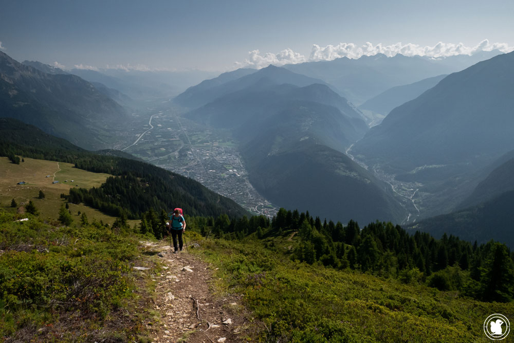 Vallée du Rhône en Suisse