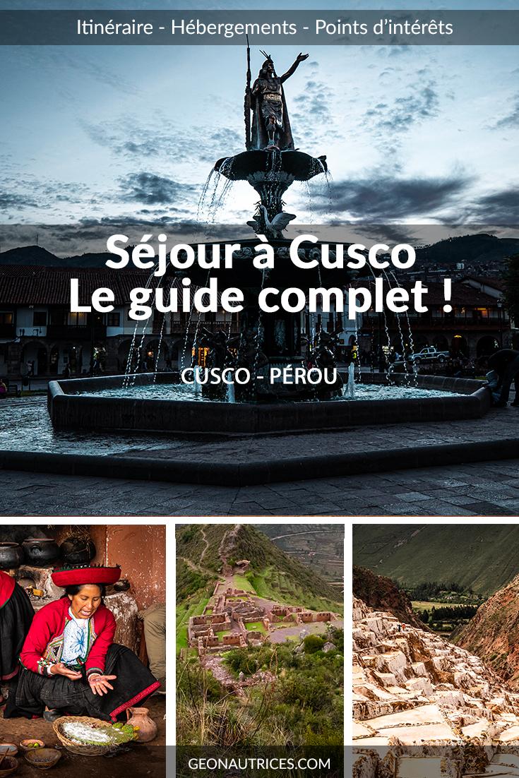Le guide complet sur Cusco et la vallée sacrée des Incas. Quoi voir et quoi faire ? Où dormir et où manger à Cusco ? Les transports... #voyageperou #ameriquelatine #empireinca