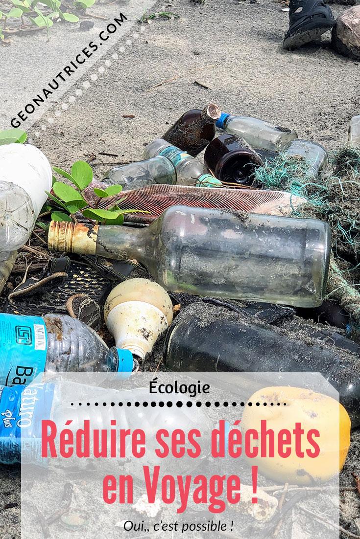 Nos astuces et accessoires pour réduire ses déchets en voyage ! Pourquoi, comment ? C'est dans cet article !! #zerodechet #ecoresponsabilite #voyageslow