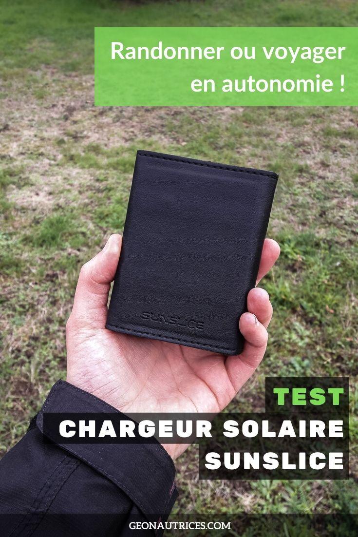 En quête d'autonomie pour vos randonnées ou vos voyages ? Nous avons testé un chargeur solaire nomade parfait pour éviter les galères de panne de batterie au milieu de nulle part.  Lisez notre article test de ce chargeur solaire Sunslice pour en savoir plus ! ;)  #chargeursolaire #energierenouvelable #ecologie #autonomie