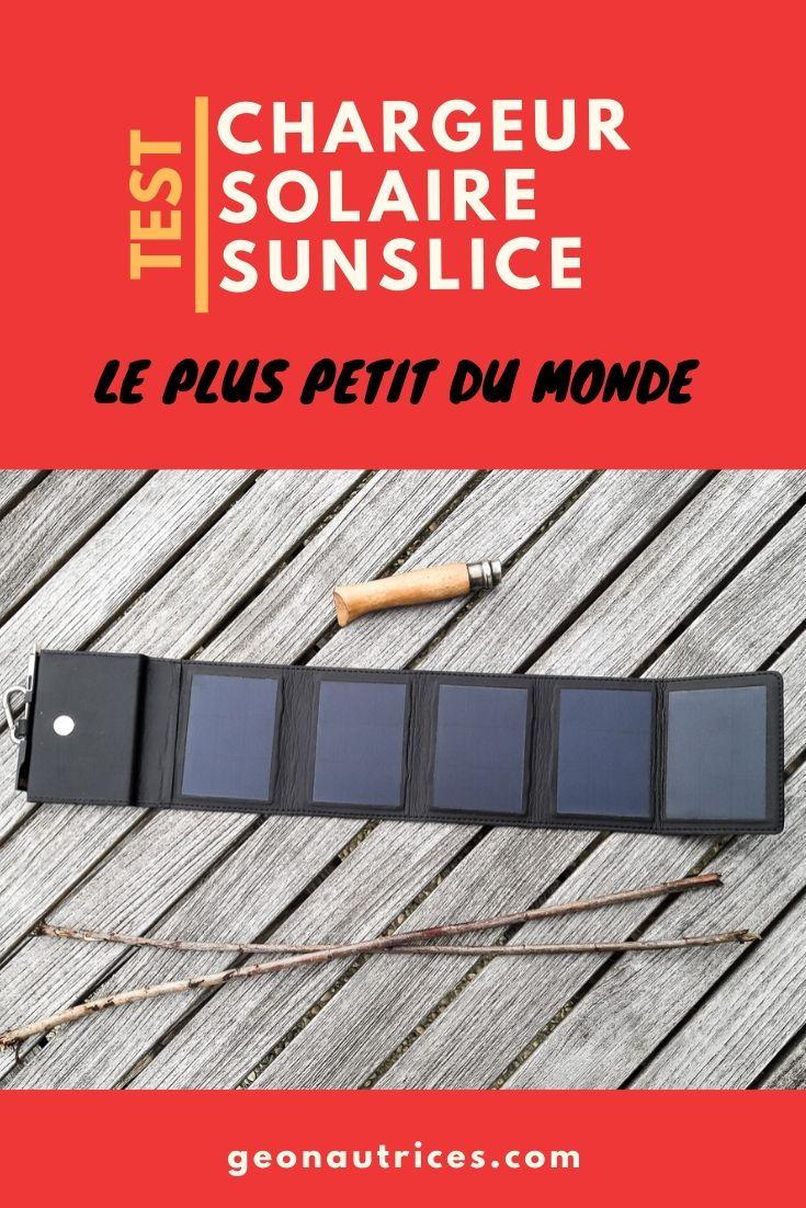 Si vous êtes à la recherche d'autonomie pour vos randonnées ou vos voyages, lisez de ce pas notre article test sur le chargeur solaire Sunslice qui est petit, robuste et performant ! Nous l'avons testé et voici notre retour d'expérience dans cette article. #chargeursolaire #energierenouvelable #ecologie #autonomie