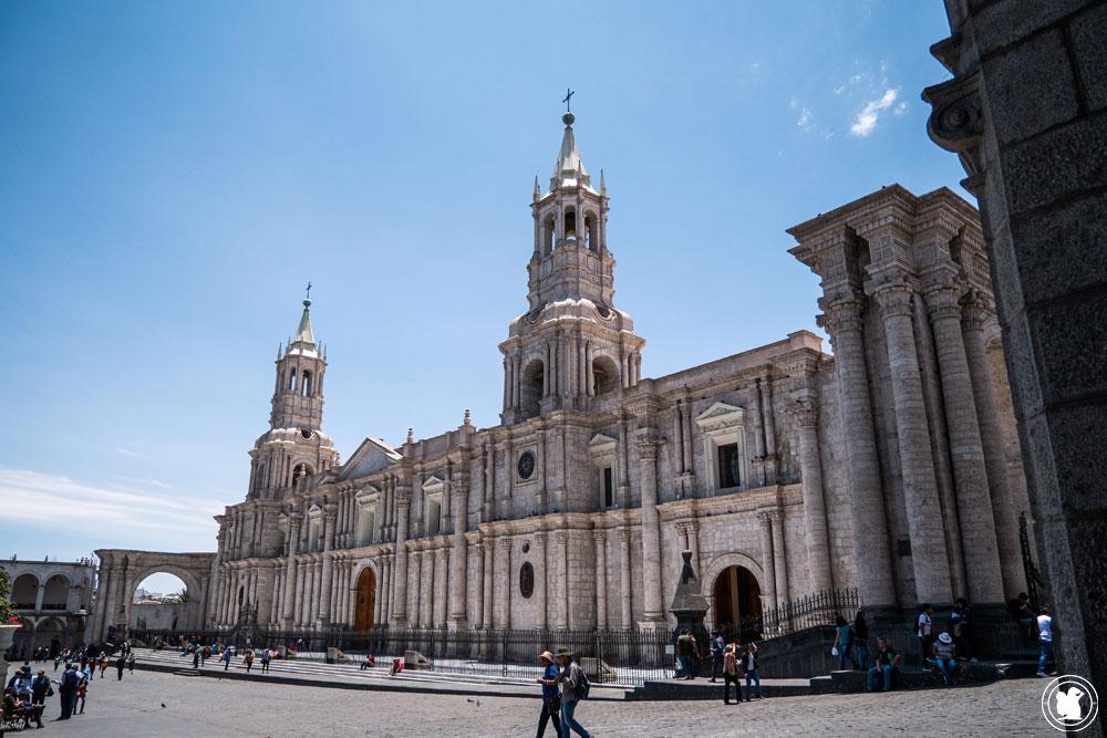 Basilique Cathédrale Arequipa