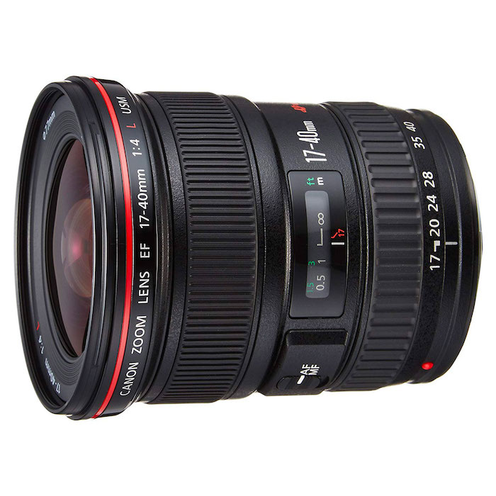 Canon zoom 17-40mm
