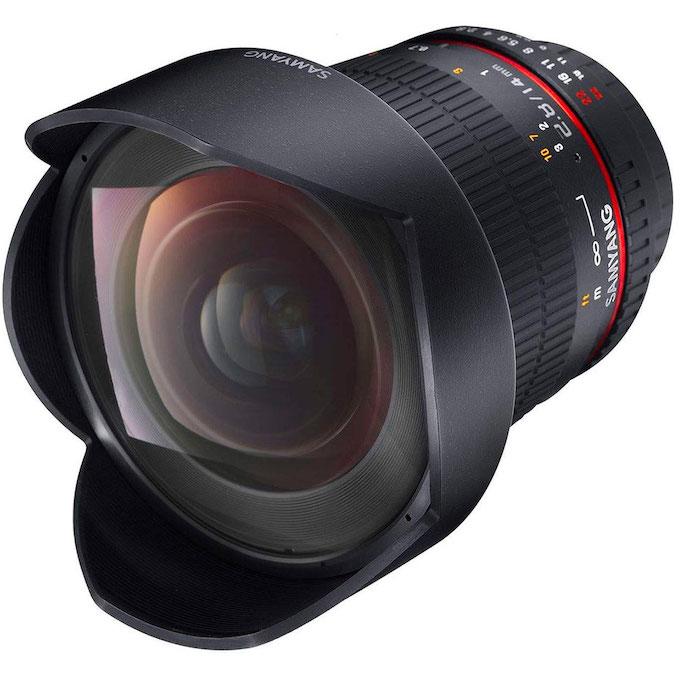 Samyang 14mm pour Canon