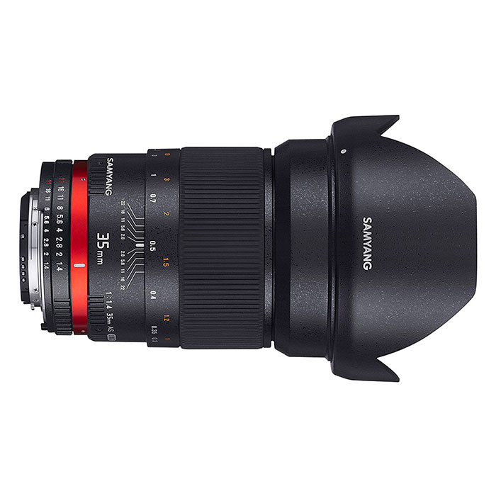 Samyang 35mm pour Sony