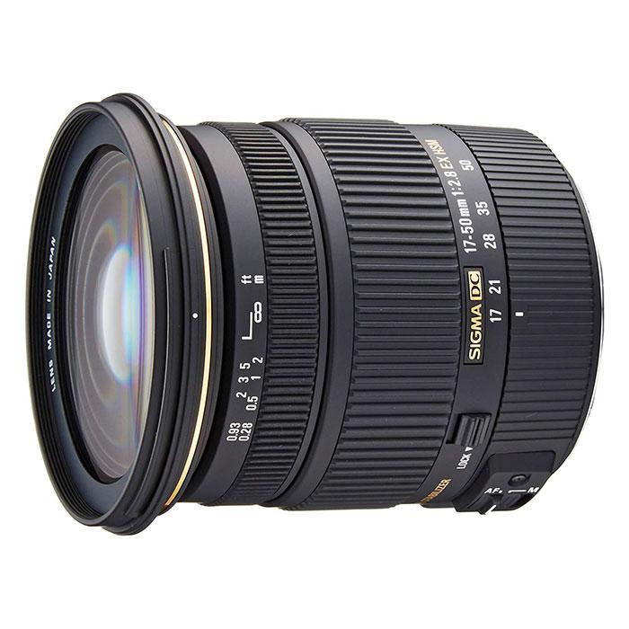 Sigma 17-50mm pour Canon