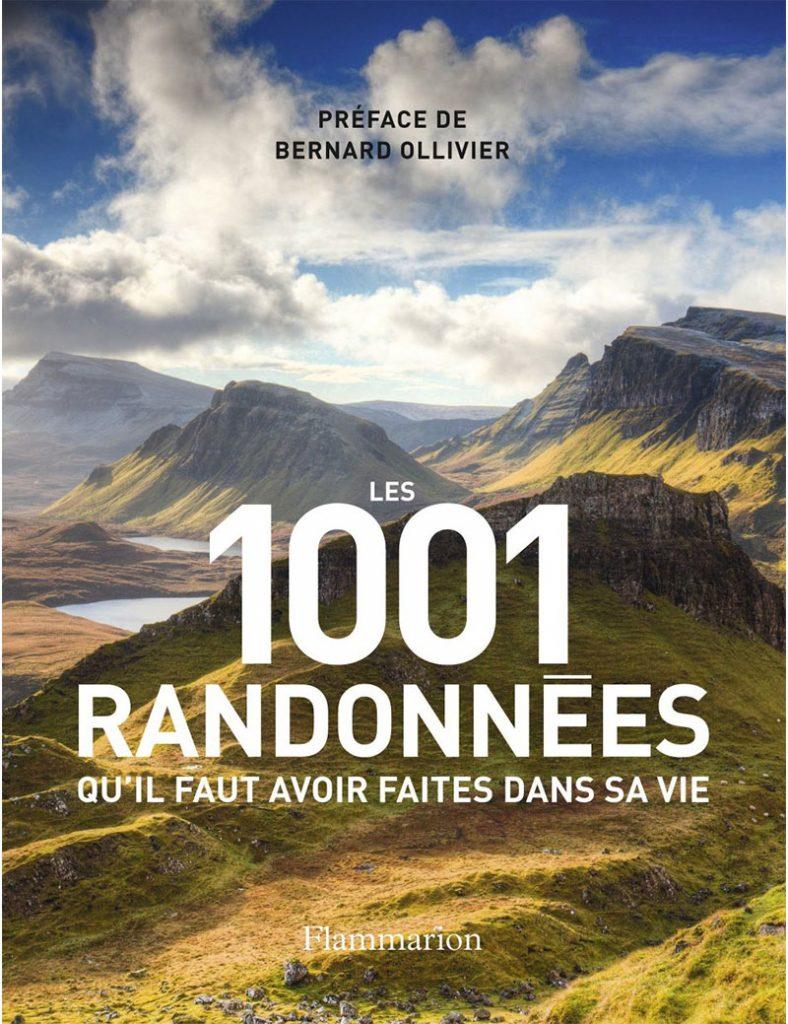Livre randonnée - 1001 randonnées à faire dans sa vie