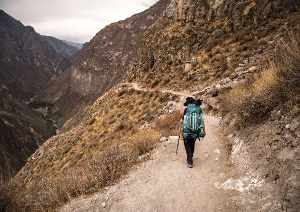 Commencer la randonnée itinérante
