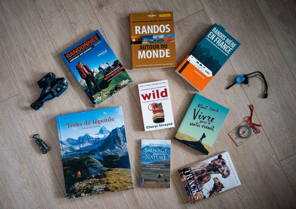 30 idées de livres sur la randonnée et le trekking