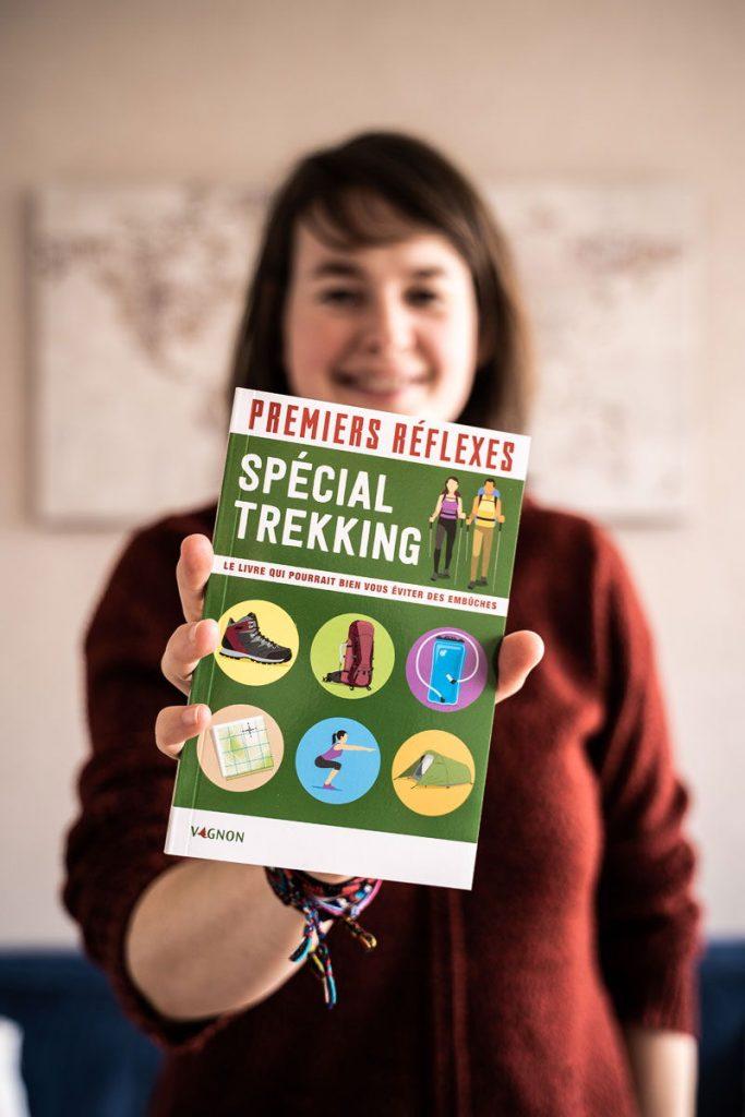 Livre Premiers réflexes spécial trekking