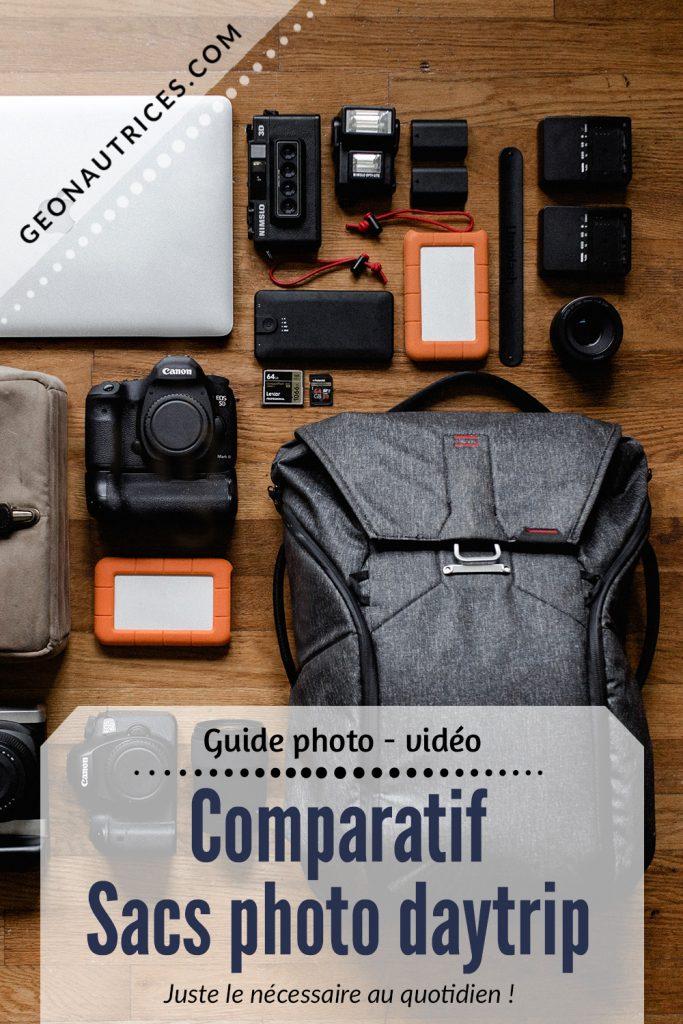 Vous cherchez un sac photo pour des journées citytrip ? Vous êtes au bon endroit ! Nous comparons 5 sacs photo urbain pour des sorties à la journée dans cet article. #sacphoto #phototrip #journéephotographie