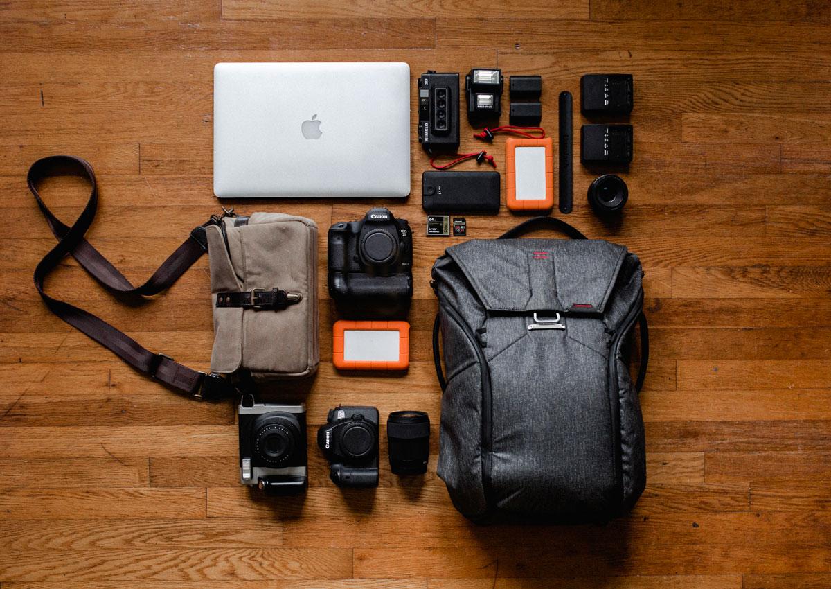 Comparatif 5 sacs photo urbain