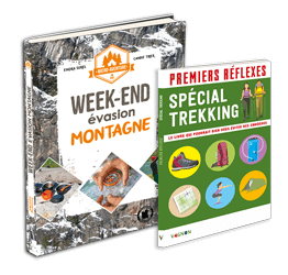 Livres Les Géonautrices : micro-aventures montagne et débuter en trekking