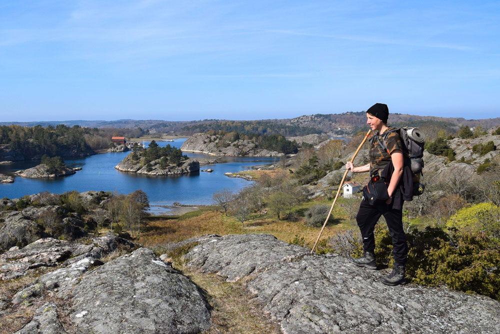 Sud de la Suède à pied - ©Astrid, Histoires de tongs