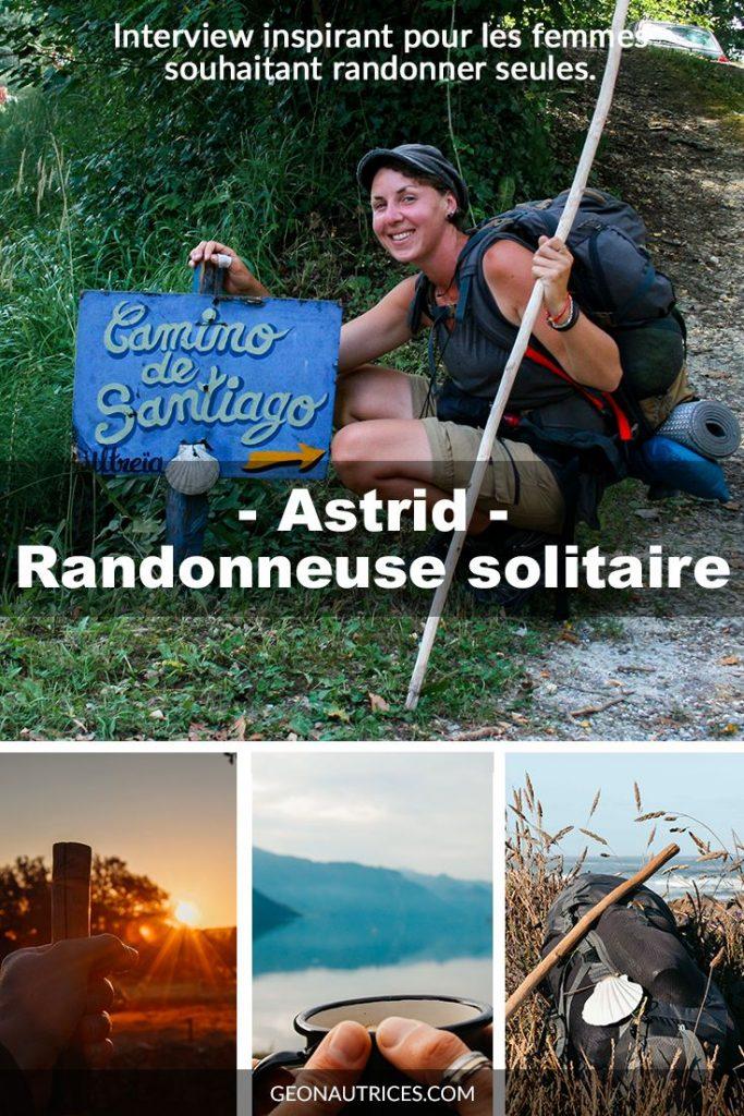 Astrid a marché sur les Chemins de Compostelle, depuis la France, l'Espagne et le Portugal. Elle s'est confiée à nous pour nous raconter son expérience de voyage et randonneuse. L'interview est à découvrir sans attendre ! #voyageapied #randonnée #découvrirlemonde