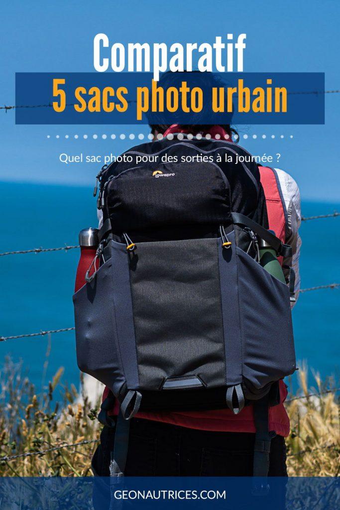 Comparatif de 5 sacs photo urbain, idéal pour des sorties à la journée ! À découvrir dans l'article. #comparatifphoto #matérielphoto #photo #sacphoto