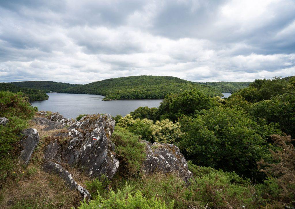 Tour du lac de Guerlédan