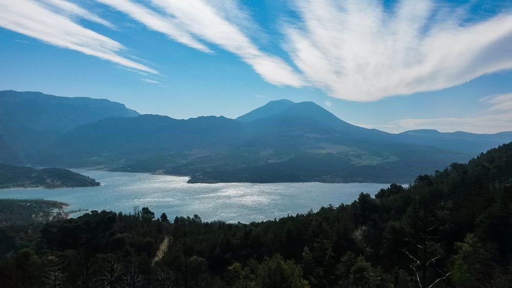GR4 d'Ariane - Lac de Sainte-Croix