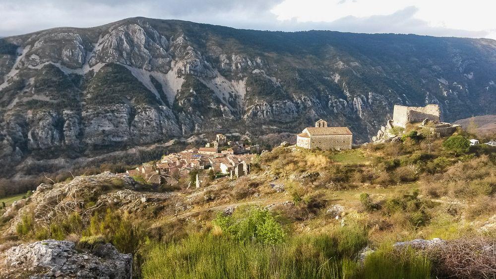 GR4 d'Ariane - Village de Gréolières