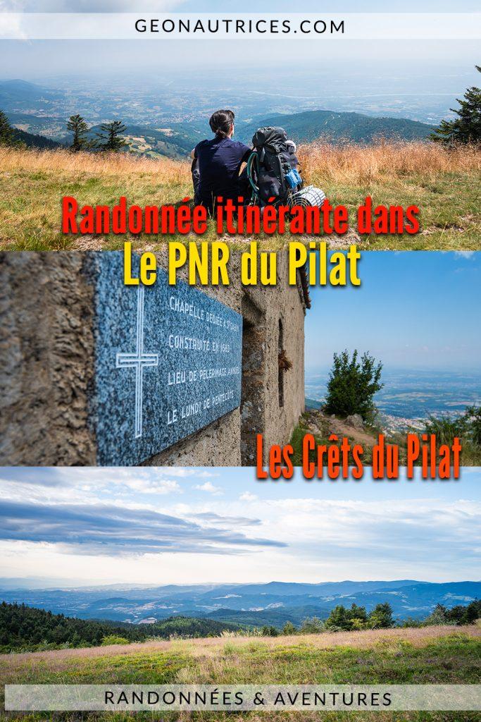 Découverte des Crêts du Pilat au cours d'une randonnée de 2 jours dans le Parc Naturel Régional du Pilat dans la Loire. Une jolie randonnée accessible pour les plus petits et les plus grands. #randonnée #itinérance #france