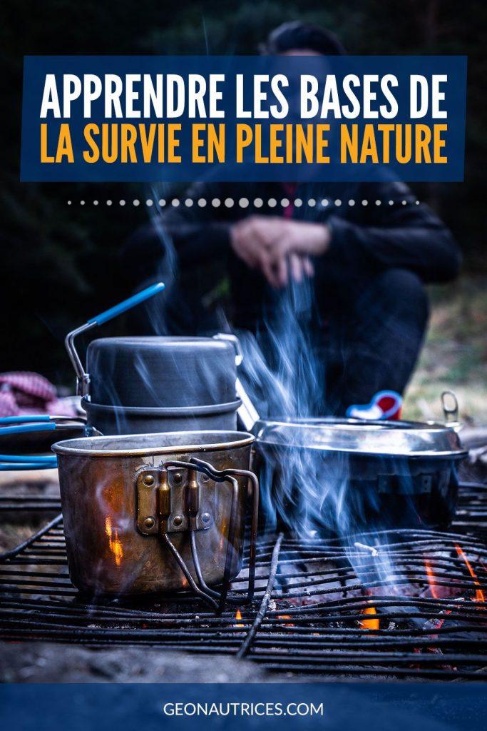 Apprendre les bases de la survie en pleine nature. #survie #nature #survivalisme
