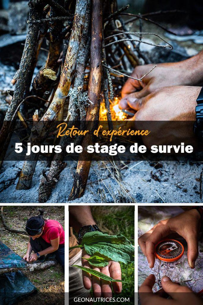 Retour d'expérience de 5 jours de stage de survie en pleine nature.  #survie #nature #survivalisme